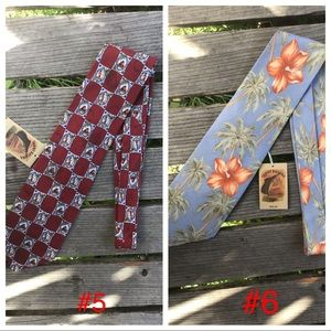 Tommy Bahama Accessories - NWT HUGE Selection Silk TB Ties